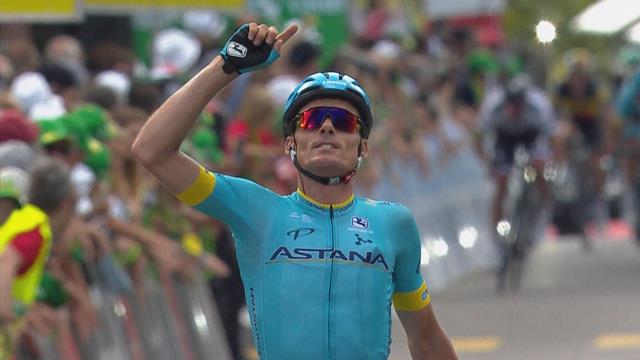 Ronde van Zwitserland   Sanchez voorkomt massasprint en pakt dagzege