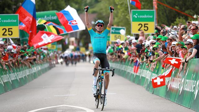 Luis Leon Sanchez remporte la 2e étape, Asgreen nouveau leader