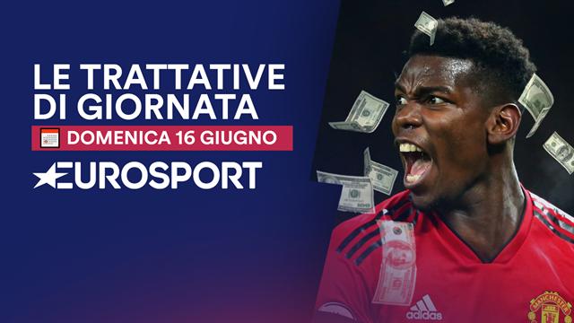 Dalla rottura Pogba-United a Sarri, la giornata di calciomercato in 1 minuto