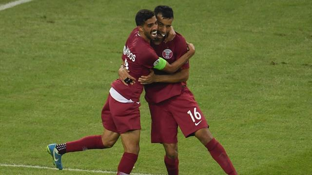 Qatar shake up Copa with thrilling comeback against Paraguay