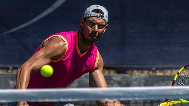El camino de Nadal hacia Wimbledon: descanso y entrenamiento sin torneos de por medio
