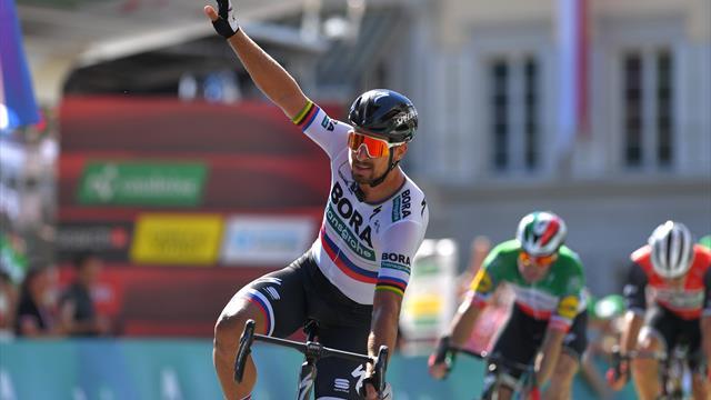 Ronde van Zwitserland: Sagan sprint naar zege in derde etappe