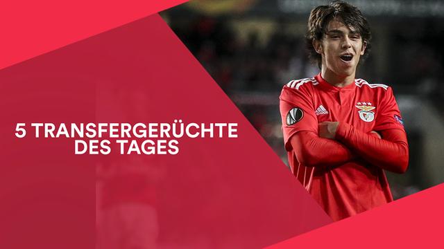 5 Transfergerüchte: João Félix vor Wechsel zu spanischem Topklub