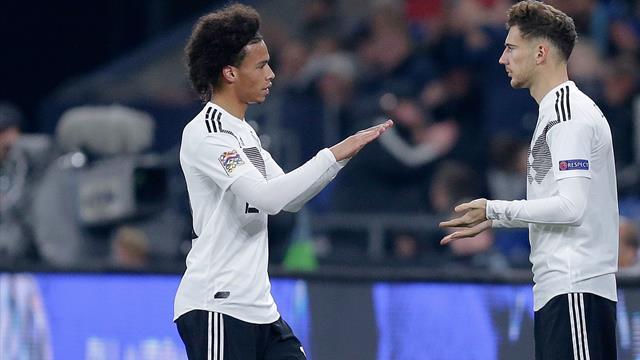 """Goretzka lockt Sané: """"Einer der besten Klubs der Welt"""""""