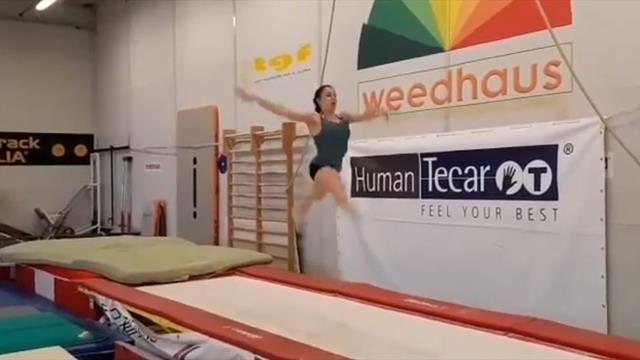 """Vanessa Ferrari intensifica gli allenamenti: prosegue la riabilitazione """"olimpica"""""""