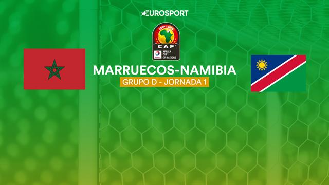 Copa África 2019, Marruecos-Namibia: vídeo resumen del partido