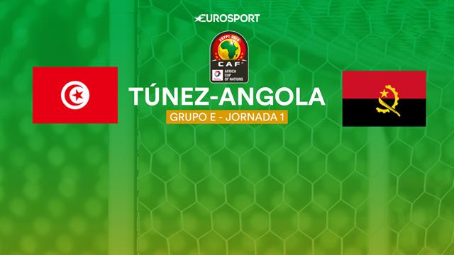 Copa África 2019, Túnez-Angola: vídeo resumen del partido