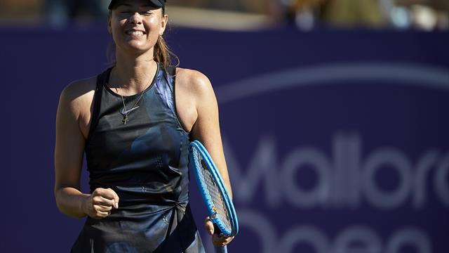 WTA Santa Ponsa: Sharapova regresa con victoria tras cuatro meses de ausencia