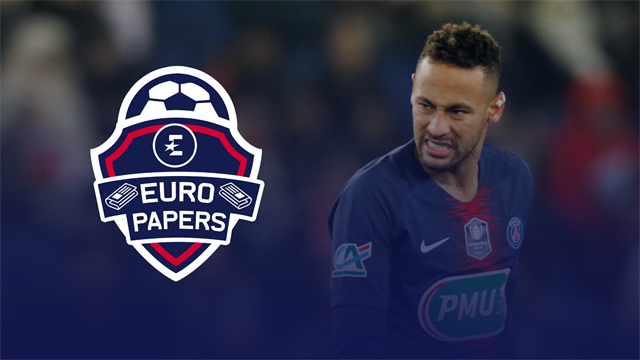 Euro Papers: Neymar pulls plug on PSG talks