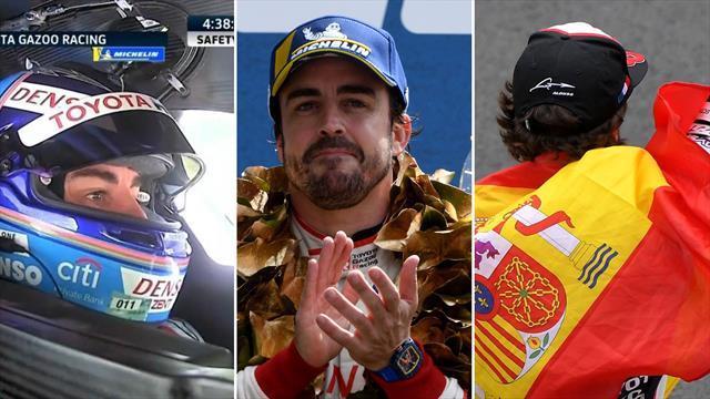 De su debut en Spa, a la segunda victoria en Le Mans: Los mejores momentos de Alonso en el WEC