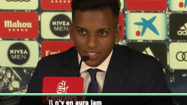 "Real - Rodrygo : ""Je ne veux pas être Neymar, je veux être le Rodrygo du Real"""
