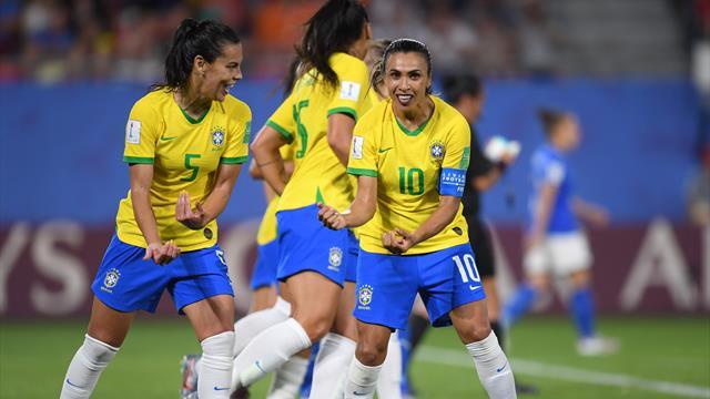 Une Marta record pousse quasiment le Brésil dans les bras des Bleues