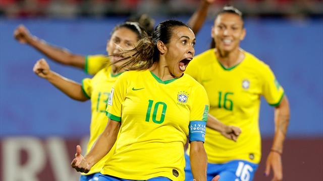 ⚽👩 Marta supera a Klose y ya es la máxima goleadora de los Mundiales en solitario