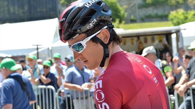 Ciclismo, Giro di Svizzera 2019: Geraint Thomas cade e si ritira! Si teme una possibile frattura alla clavicola per il britannico