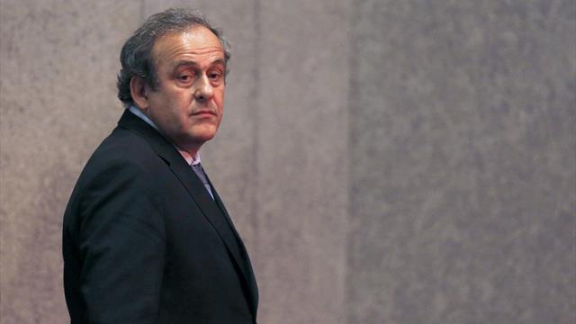 Platini est sorti libre de sa garde à vue