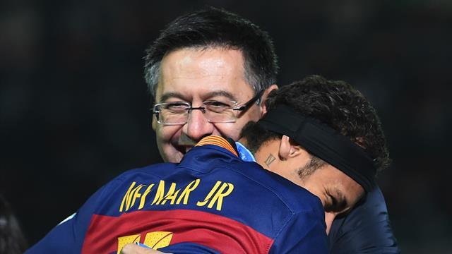 RAC1: «Барселона» запустила в производство футболки Неймара и записала его видеообращение к фанатам