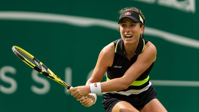 Tennis news - Ons Jabeur stuns Britain's Johanna Konta on outside court in Eastbourne