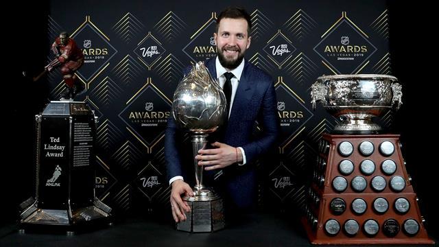 NHL Awards: Russe Kutscherow als MVP ausgezeichnet