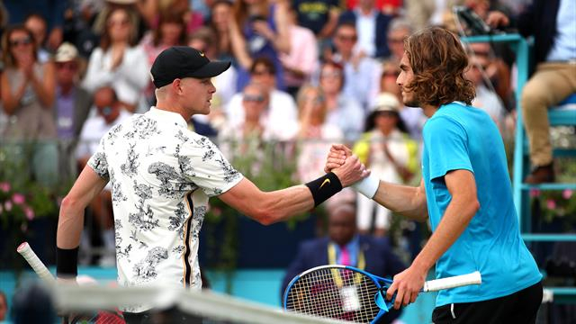 Tsitsipas knocks out Edmund as Schwartzman downs Cilic