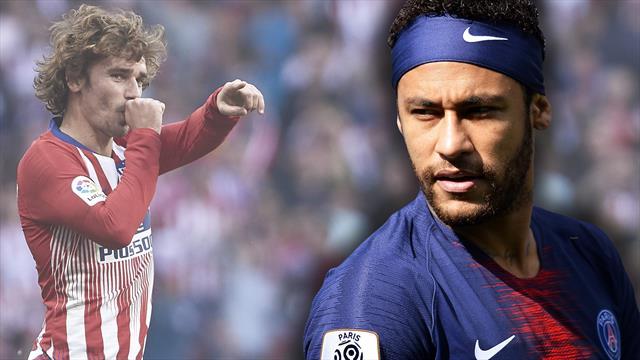 Neymar oder Griezmann? Barça muss sich entscheiden