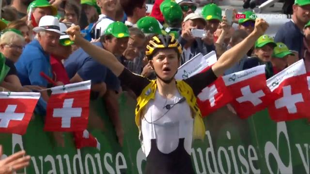 Ronde van Zwitserland   Eerste World Tour zege Tolhoek na indrukwekkende solo