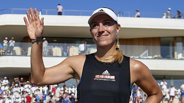 Kerber too strong for Sharapova in Mallorca