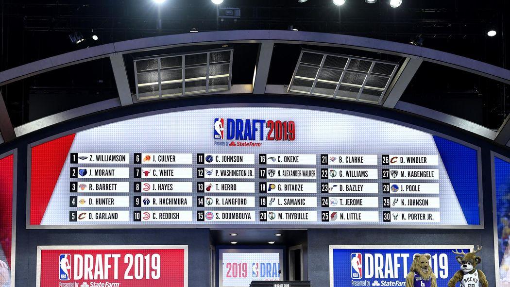 fc483933eecd0 Pelicans, Knicks, Wizards, Suns : Les gagnants et les perdants de la Draft  2019 - NBA 2018-2019 - Basketball - Eurosport