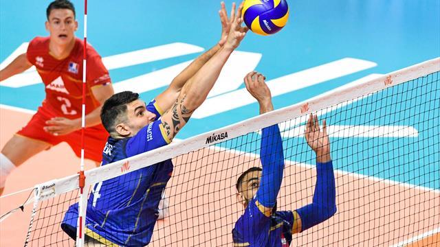 Ligue des nations volley : la France vient à bout de l'Australie