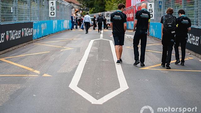 Unfinished Bern Formula E track forces shakedown delay