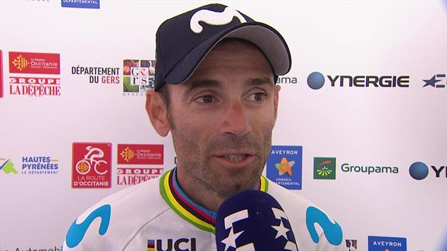 GC leader Valverde expects difficult stage on Saturday