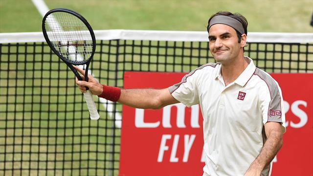 Federer progress as Zverev tumbles out