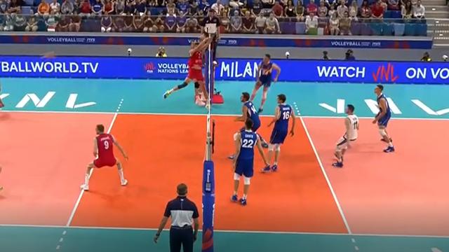 La Serbia si difende di piede, poi Pinali sfonda il muro: gran punto Italia
