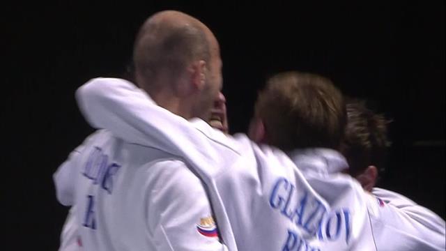 European Fencing Championship: Sergey Bida claims gold