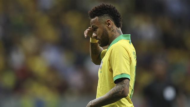 Neymar a rendu visite à la Seleção