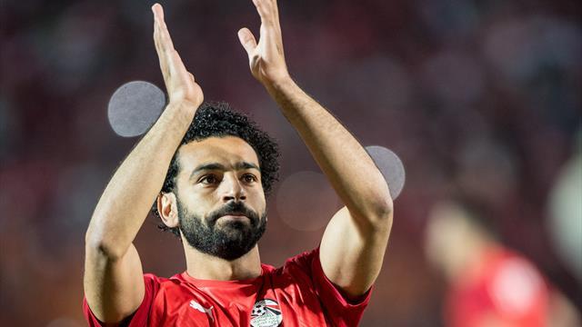 Salah marque sur coup franc, l'Egypte fait carton plein