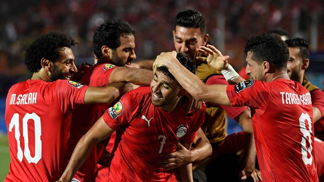 WATCH - Trezeguet scores first goal of AFCON with lovely solo effort