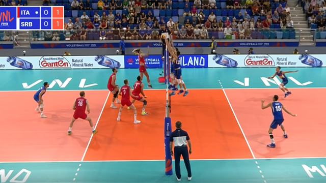 Volleyball Nations League: Italia-Serbia 3-0, gli highlights