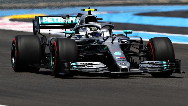 Bottas on top in final French GP practice