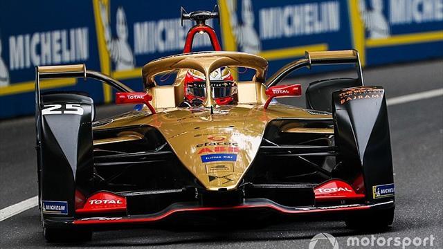 Vergne charges to pole in Swiss E-Prix, Di Grassi 19th