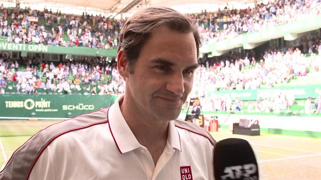 """Federer ganz offen: """"Keiner fühlt sich auf diesem Court wirklich wohl"""""""