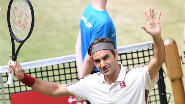 Грациозная игра Федерера, который расщепил на атомы Эрбера в полуфинале