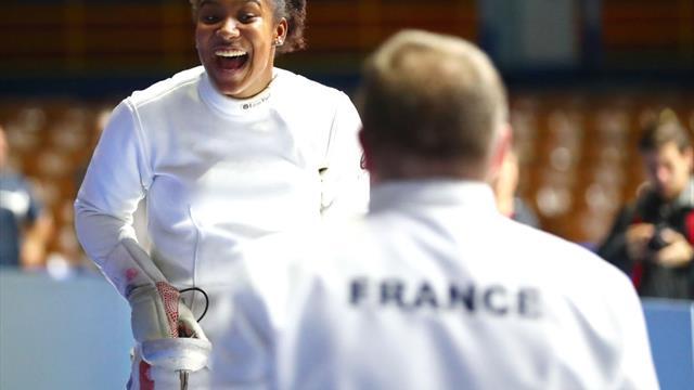 Championnat d'Europe : Coraline Vitalis bat Marie-Florence Candassamy en finale du tournoi d'épée