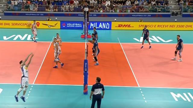 Volleyball Nations League: Argentina-Italia 3-1, gli highlights