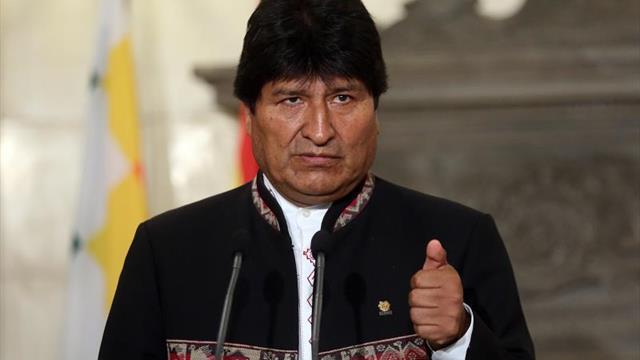"""Evo Morales considera que a la selección boliviana """"le faltó suerte"""""""