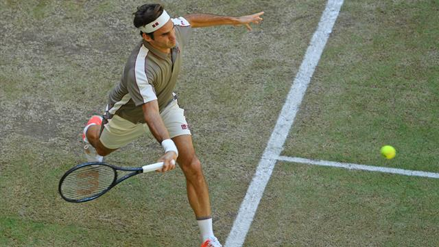 Les temps forts de la victoire de Federer face à Goffin en finale