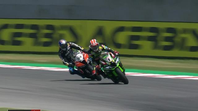 Superbikes Misano, (2ª carrera): Rea sufre para ganar y aprovecha el fallo de Bautista