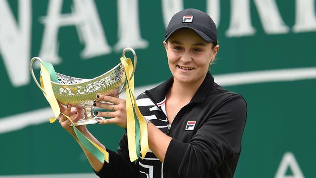 Барти выиграла турнир в Бирмингеме и станет первой ракеткой мира
