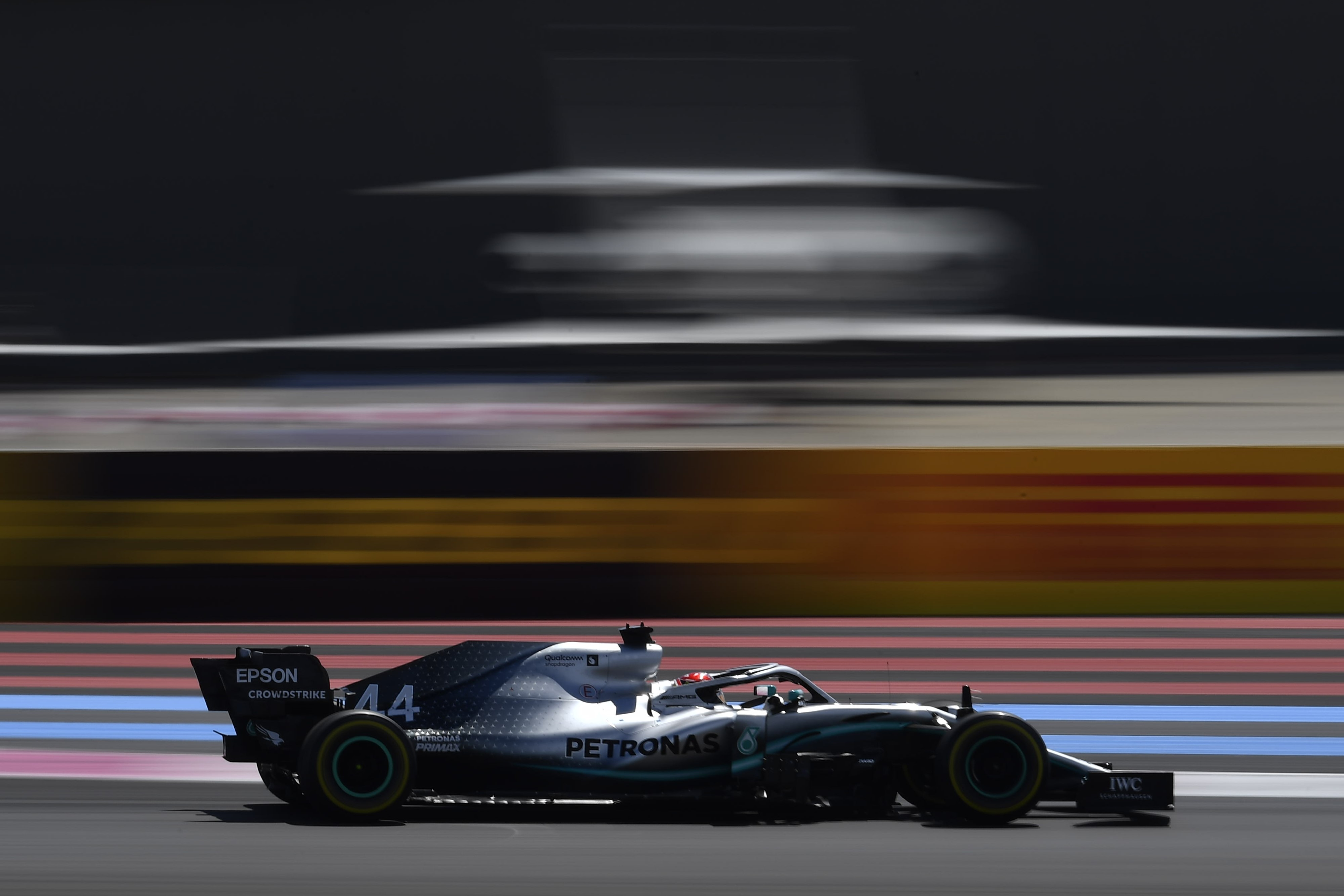 Lewis Hamilton (Mercedes) au Grand Prix de France 2019