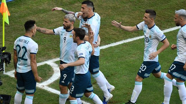 Argentina avoid upset and eliminate Qatar to reach quarter-finals