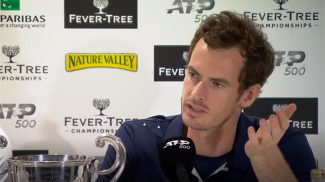 'No pain' - Murray admits to shock at Queen's